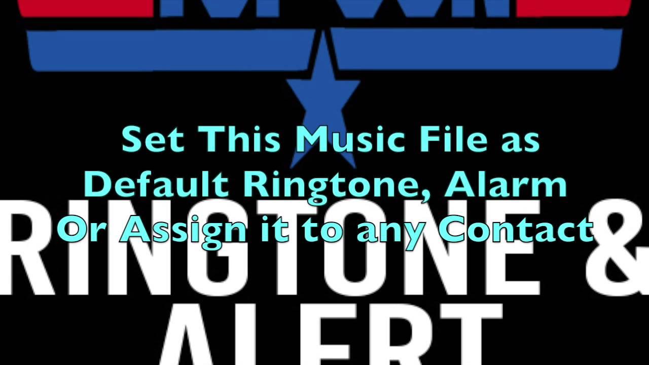Top Gun Ringtone and Alert