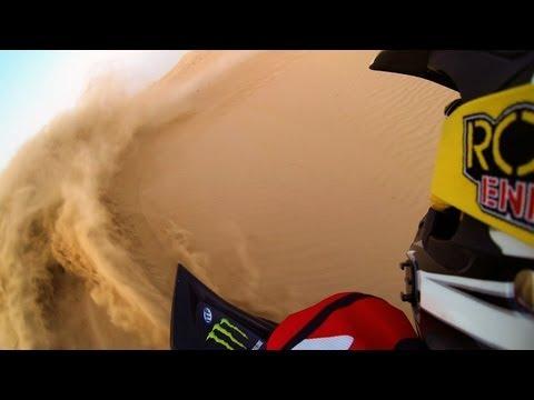 GoPro Hero 3 - Raptor 700 Duning in Dubai, UAE
