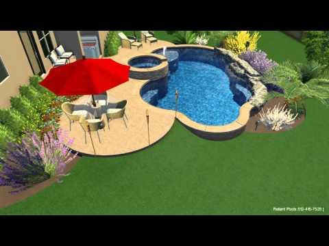 Pool Design Austin 070 152 Freeform Pool Design Reliant Pools Austin Tx Youtube