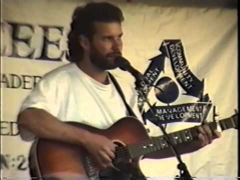 John Gorka  at Woodland Park Zoo Seattle 141, August 15,1990: