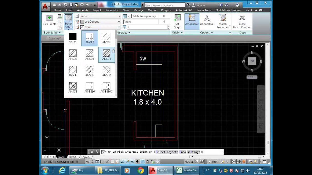 AutoCAD 2D Tutorial Part 2 - Annotation & Projection