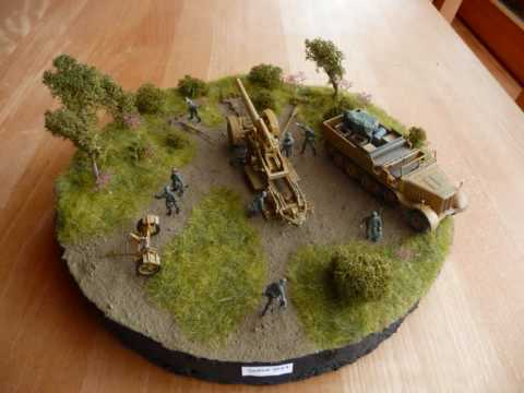 Some Old 172 Scale Dioramas Youtube