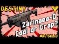 Destiny Zarinaea-D Review - Cool or Crap?