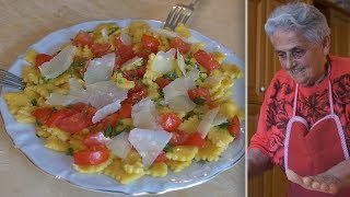 Pasta Grannies share Rosa's recipe for 'sfoglia lorda' mini ravioli !