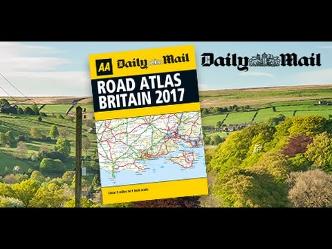 Daily Mail - FREE AA Road Atlas