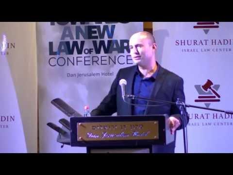 Nitsana Darshan Leitner & Naftali Bennett's Speech - Towards A New Law Of War 2016 Conference