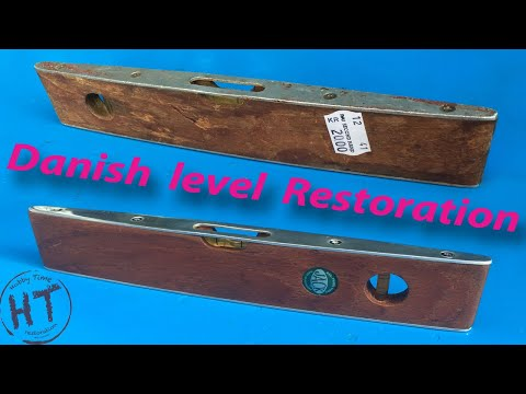 Spirit Level Restoration - Made in Denmark