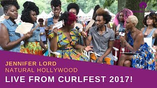 LIVE: Curlfest 2017 with Jennifer Lord of NaturalHollywood