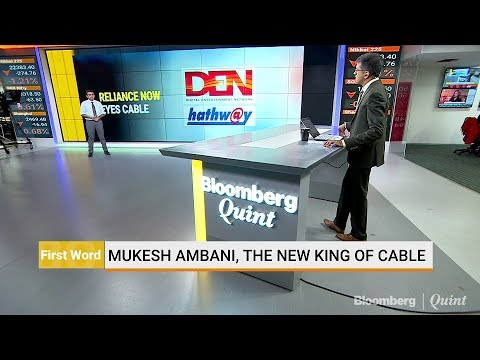 India's New Cable King: Mukesh Ambani