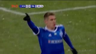 Динамо - Ворскла - 1:0. Відео голу Бєсєдіна