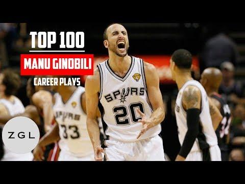 Manu Ginobili top 100 plays