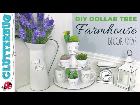 Dollar Tree DIY Farmhouse Decor Ideas