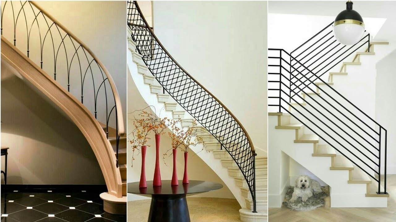 75 Stairs Railing Designs Youtube