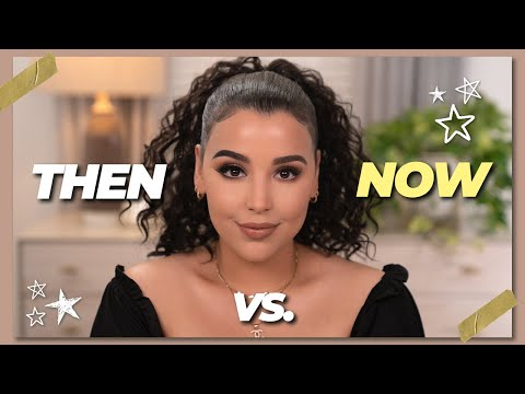 How I USED To Do My Makeup vs. NOW! - 동영상