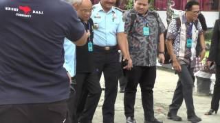 Kunjungan Komisi III ke LP Denpasar