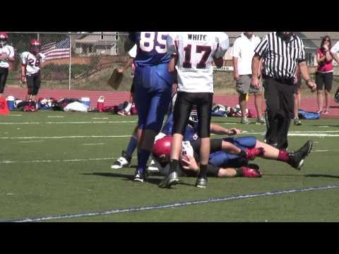 Kill The quarterback Sack! Bruins vs Warriors AYL Football
