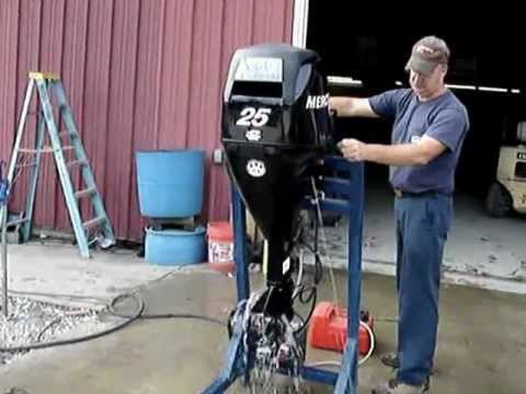 2007 Mercury 25hp Outboard Motor Boat Engine Sales On
