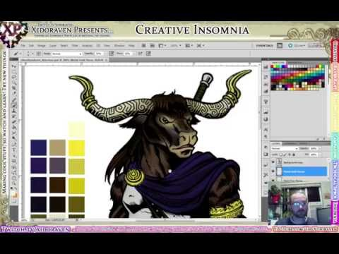 Xidoraven Presents - Creative Insomnia [Twitch archive, 2016-09-24, 00:00]