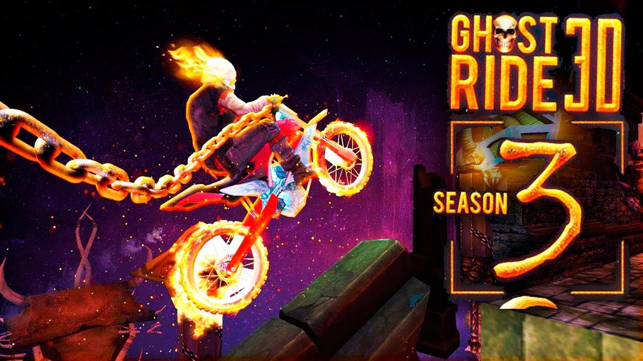 Ghost Ride 3D Season 3 (by Integer Free Games) Android Gameplay Trailer