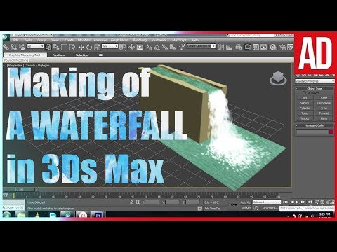 Making Waterfalls in 3ds Max with Particles | 2017 | Beginne