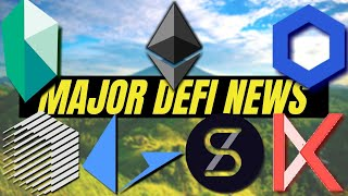 DEFI and Ethereum 2.0 UPDATES! Chainlink, Kyber Network, Synthetics, Ren Protocol, Loopring, Kava