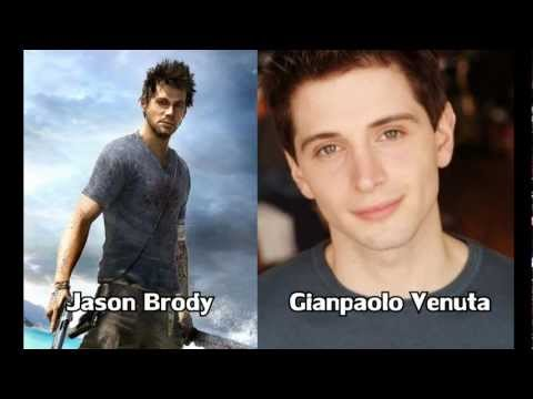 Far Cry 3 Characters And Voice Actors Youtube