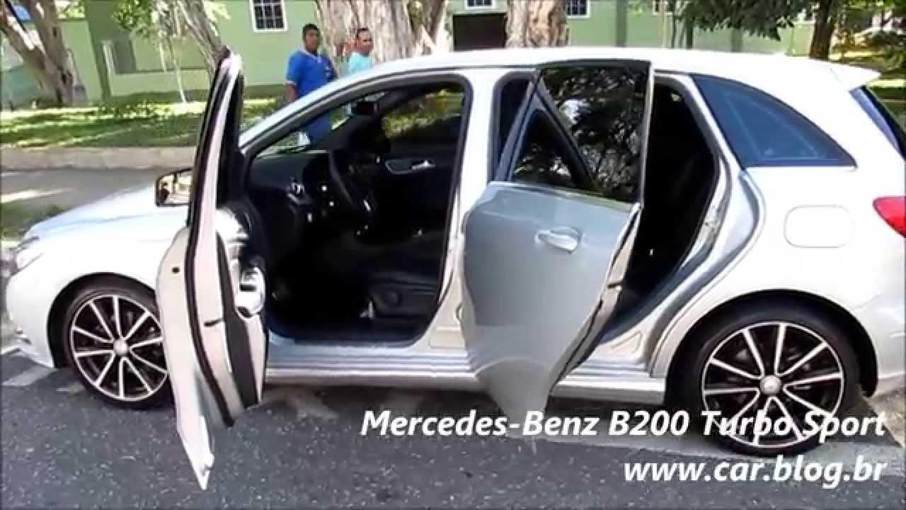 mercedes benz b200 turbo sport youtube. Black Bedroom Furniture Sets. Home Design Ideas