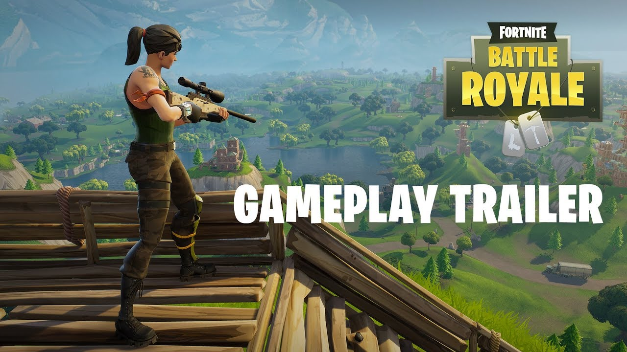 Fortnite Battle Royale Gameplay Trailer Play Free Now