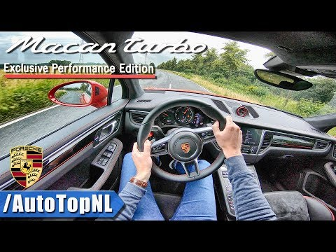 Porsche Macan Turbo   Exclusive Performance Edition   POV Test Drive by AutoTopNL
