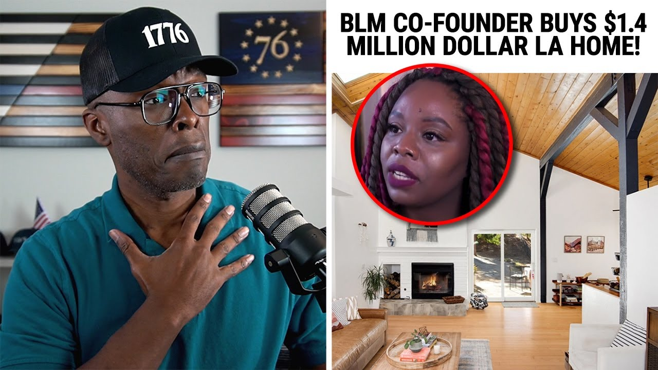 BLM Co-Founder Buys $1.4 Million Dollar Home in LA Hills!