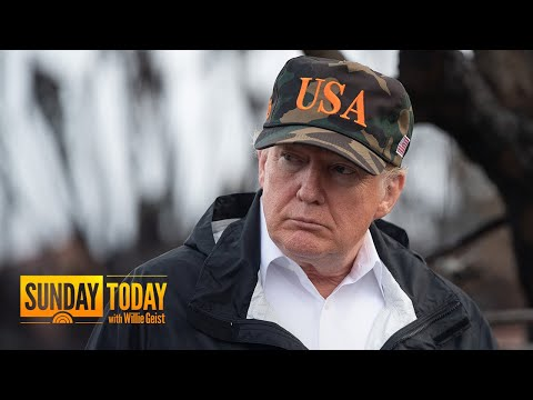 President Trump Tours California Wildfire Damage; Nearly 1,300 Still Missing | Sunday TODAY