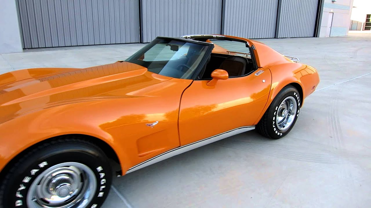 1977 Chevrolet Corvette Coupe T Top L48 s Matching For Sale