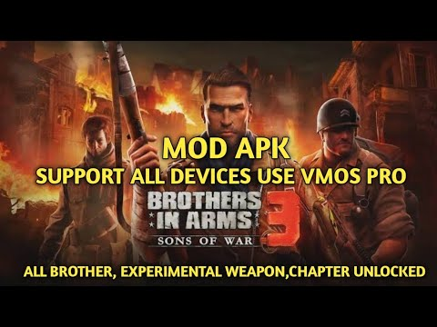 Download Brothers in arms 3 Mod apk [Support all devices] 💯% working