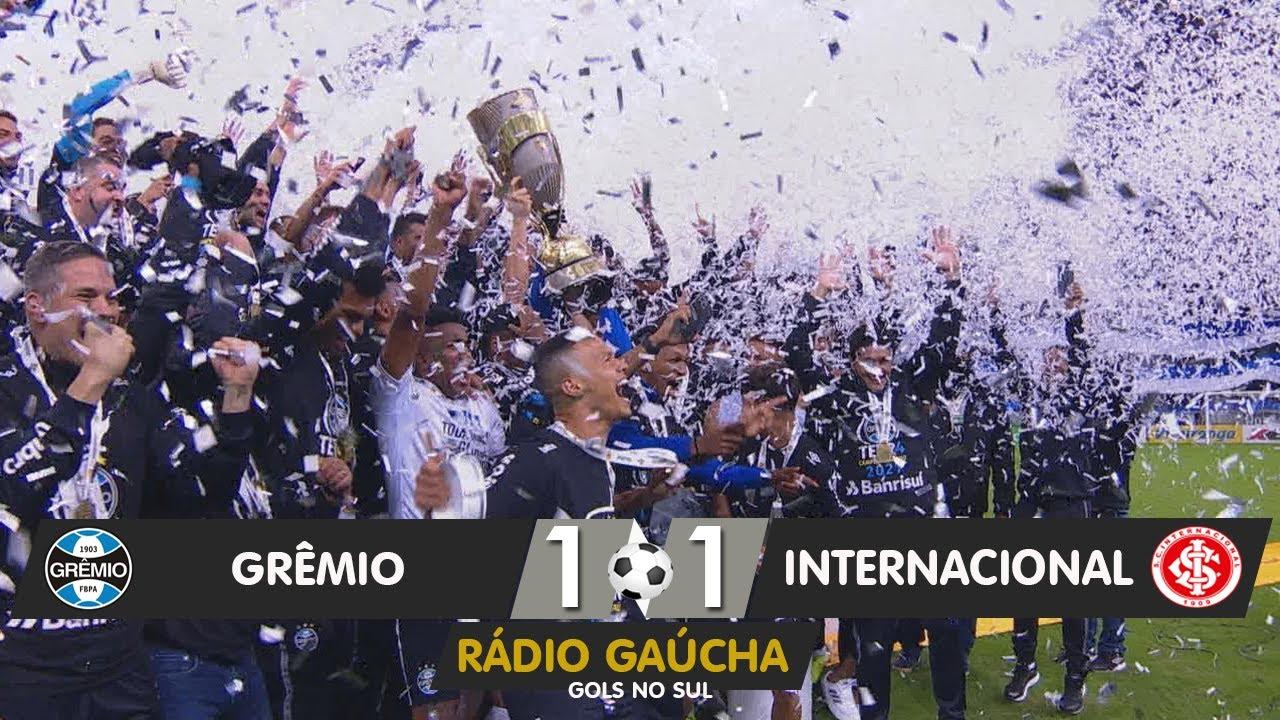 Gremio 1 X 1 Internacional Radio Gaucha 23 05 2021 Youtube