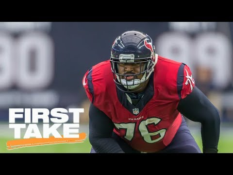First Take reacts to Texans trading Duane Brown to Seahawks | First Take | ESPN