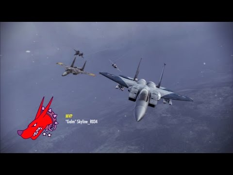 Ace COmbat: Infinity TDM EASTER EGG! Avalon with 'Zero' Soundtrack