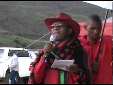 A show of Pre Electoral Political Debate- Democratic Congress, Lesotho