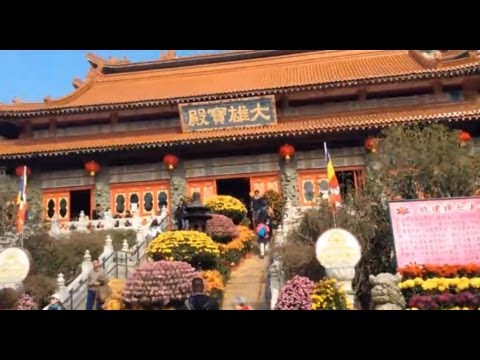 Visiting Po Lin Monastery - Ngong Ping, Hong Kong