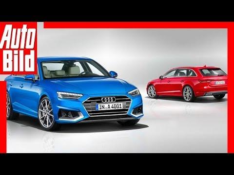 Zukunftsaussicht Audi A4 Facelift 2019 Details Erklärung Youtube