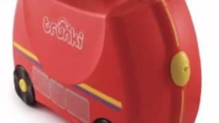 Детский чемодан на колесиках ПожарникTrunki Freddie the Fire Engine(, 2014-04-25T12:42:55.000Z)