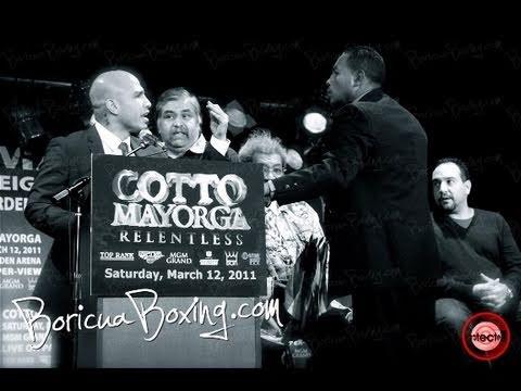 Miguel COTTO vs Ricardo MAYORGA NYC Press Conference and Behind The Scenes
