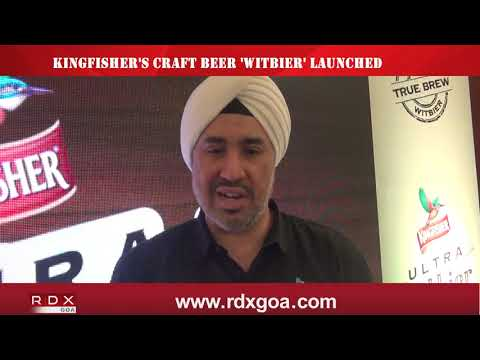 KINGFISHER'S CRAFT BEER 'WITBIER' LAUNCHED