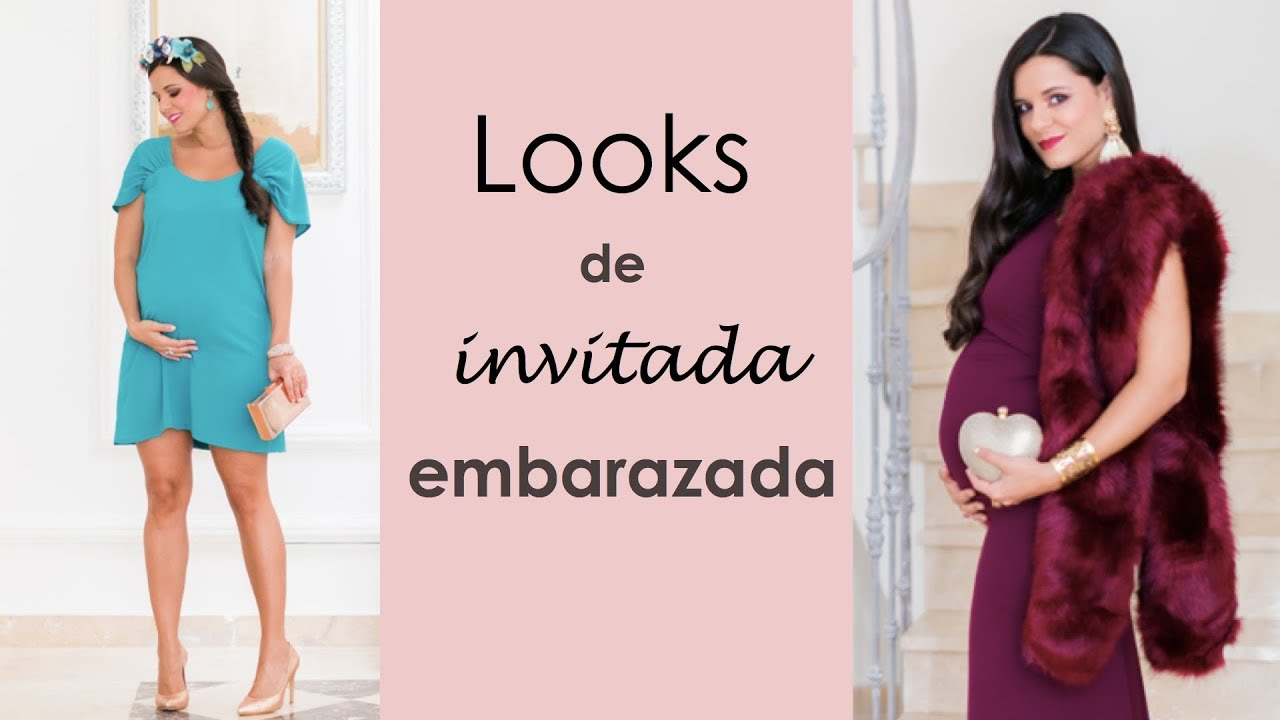 06617a010 Looks de invitada embarazada - YouTube