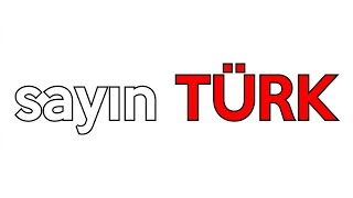 Şehinşah | Sayın Türk ''Typography Video'' Video