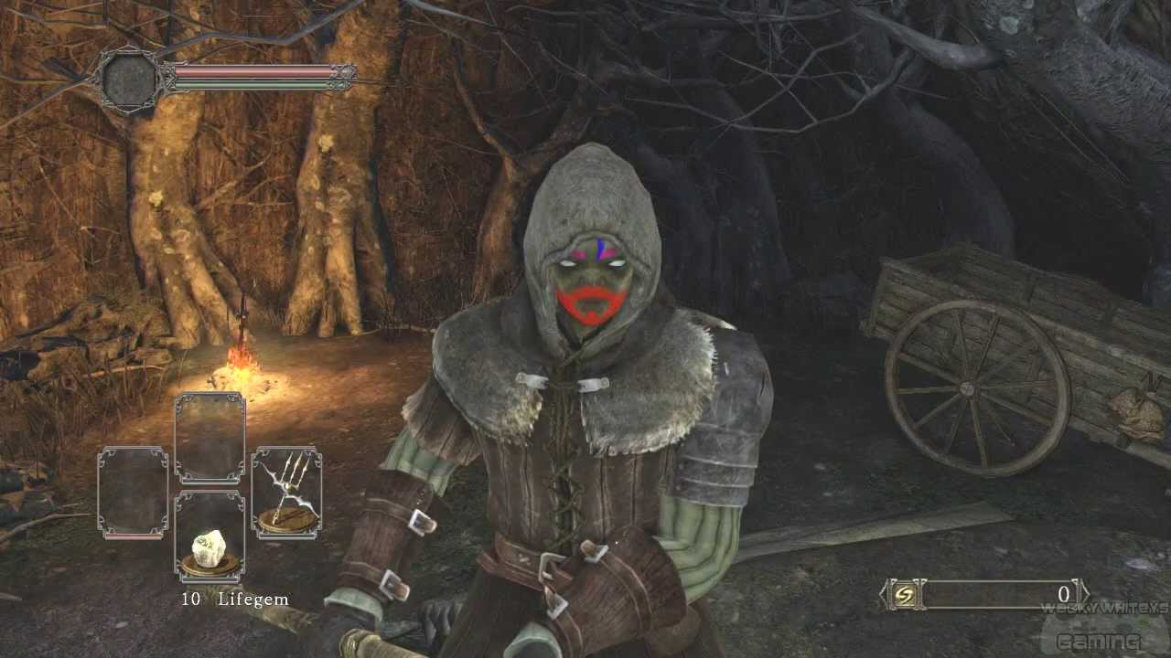 Dark Souls 2 - Petrified Something Gift Tutorial - YouTube