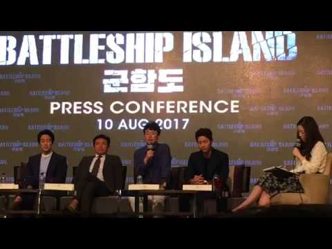 170810 Song Joong Ki So Ji Sub The Battleship Island Press Conference in Malaysia 군함도 송중기 소지섭 軍艦島