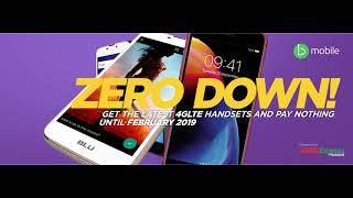 BMOBILE 4G LTE ZERO DOWN RADIO AD