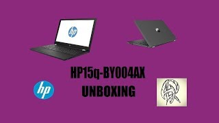 Unboxing HP 15q-BY004AX Laptop