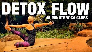Detox Flow 45 min Yoga Class - Five Parks Yoga