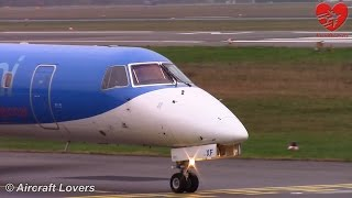bmi Regional Embraer ERJ-145 [G-RJXF] Takeoff @ Germany, Berlin-Tegel 07.12.14